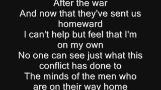 Iron Maiden - Fortunes of War Lyrics
