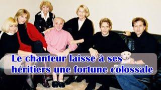 Charles Aznavour : le chanteur laisse à ses héritiers une fortune colossale