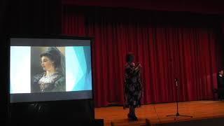 Слова и музыка В. Чиара «Гордая прелесть осанки»