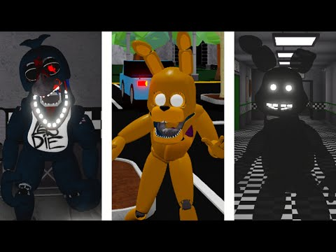 How To Get Secret Character 2 Secret Character 3 Secret Character 4 Roblox Fredbears Mega Roleplay