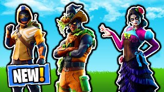 All New LEAKED EMOTES in Fortnitemare Update | Fortnite