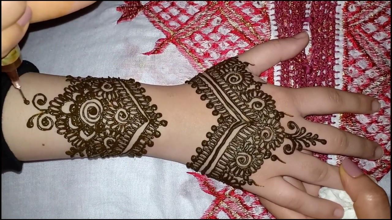 نقش هندي رائع للعروس ستايل 6