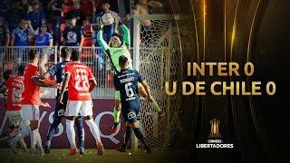 U. de Chile vs. Internacional [0-0] | RESUMEN | Segunda Fase (Ida) | CONMEBOL Libertadores 2020