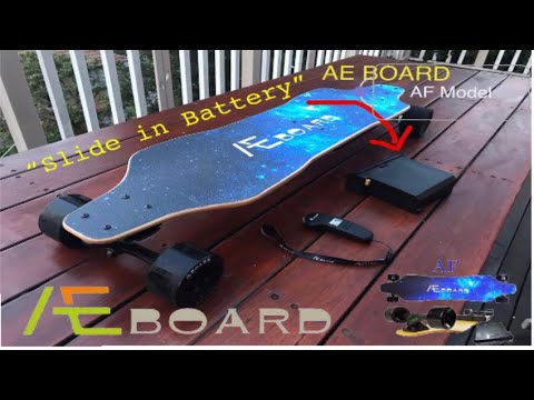 AEBoard AF Replaceable Battery - Unbox and First Ride - Andrew Penman EBoard Reviews - Vlog No.112