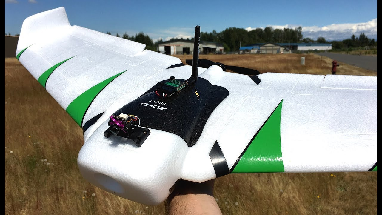 ZOHD Orbit FPV Flying Wing RC Plane With RunCam Micro Sparrow 2 FPV Camera