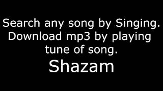 download-songs-by-singing-shazam