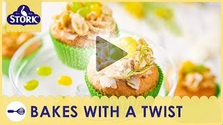 Stork Coconut & Lime Easter Cupcakes Recipe Demonstration