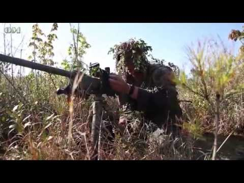 Marine Scout Snipers at Camp Lejeune - OM 3866