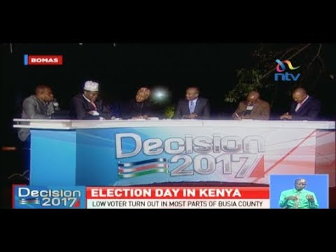 Analysing election day in Kenya