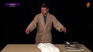 Халаты Luxberry коллекция Basic - обзор