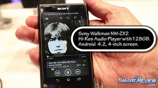 ces 2015   sony walkman high res audio players   nw zx2   nw za   high resolution music