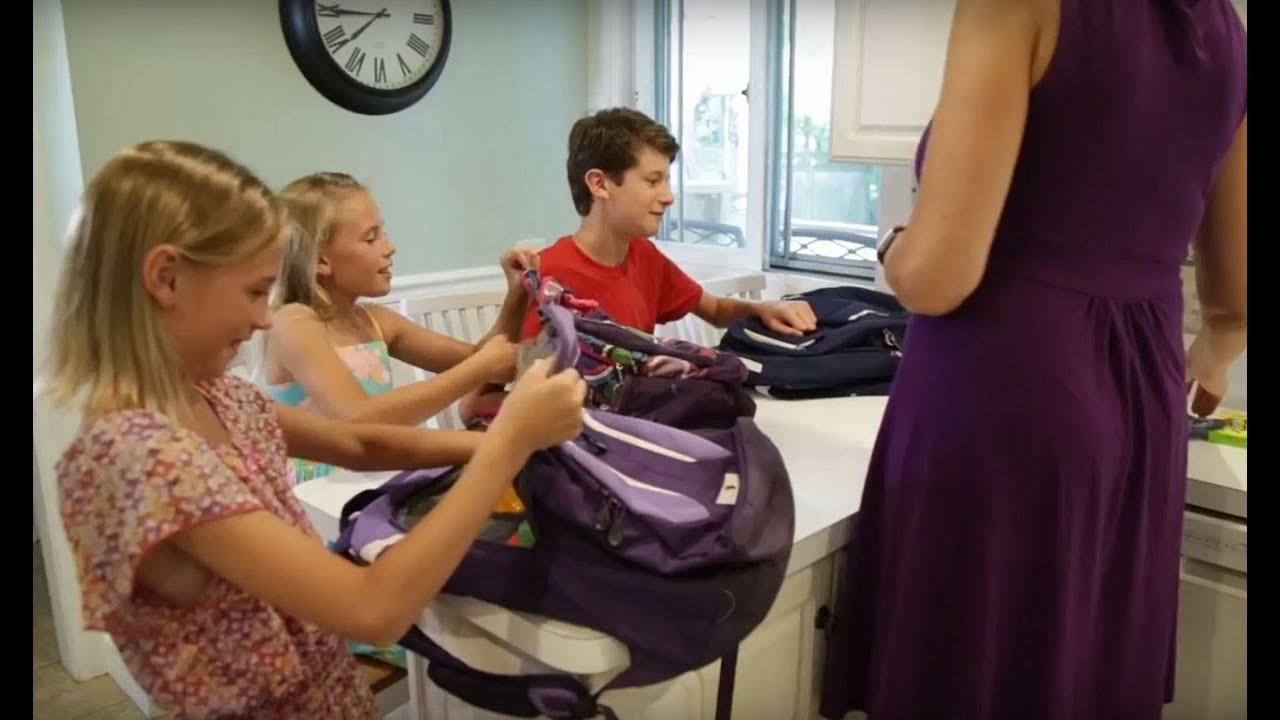 How Much Should Your Child's Backpack Weigh? - YouTube