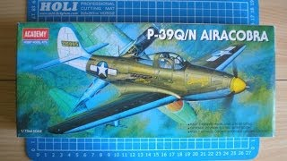 Academy 1/72 scale P-39 Q-N Airacobra - Inbox Review