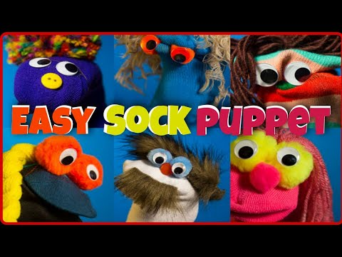 How To Make Sock Puppet