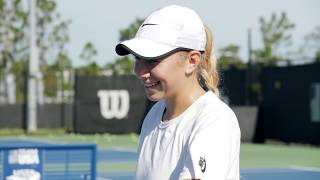 USTA National Campus: US Open Prep for Bjorn Fratangelo and Amanda Anisimova