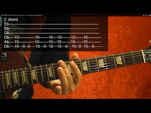 RUSH - Working Man - Guitar Lesson -Very Easy!!