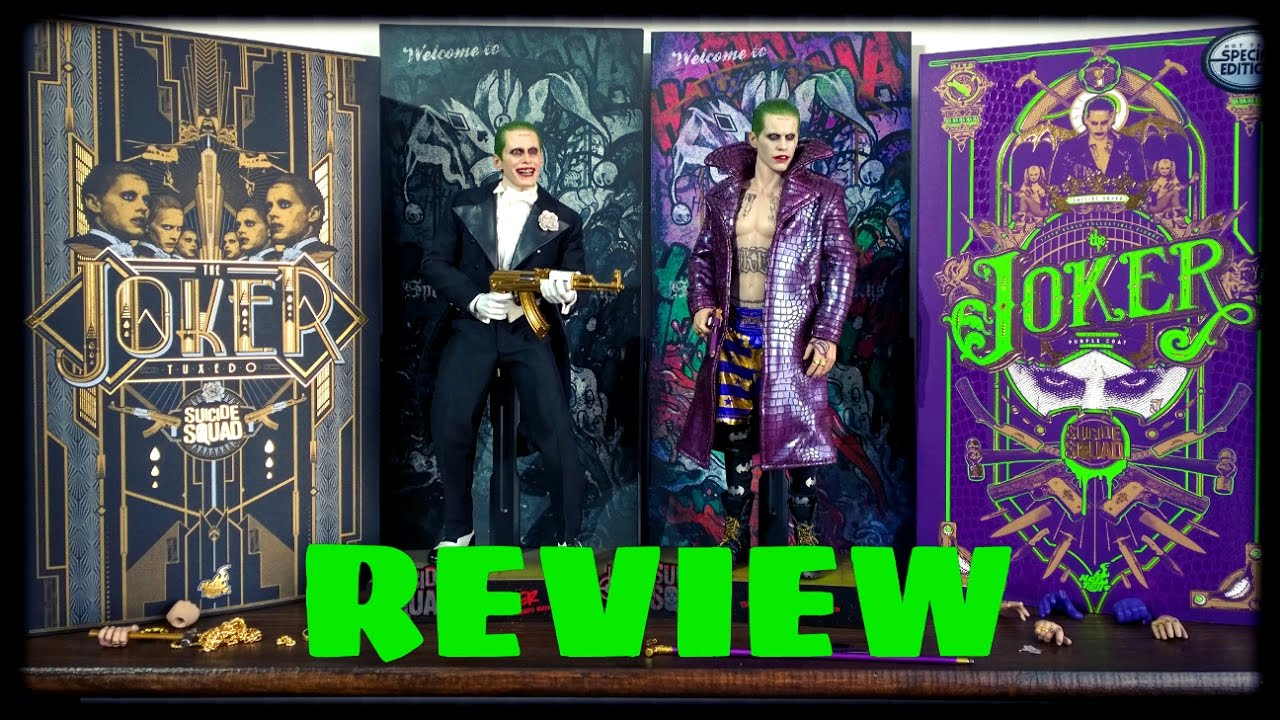 osw.zone on the new Hot toys 1/6 scale Suicide Squad Joker played by Jared Leto. This is...
