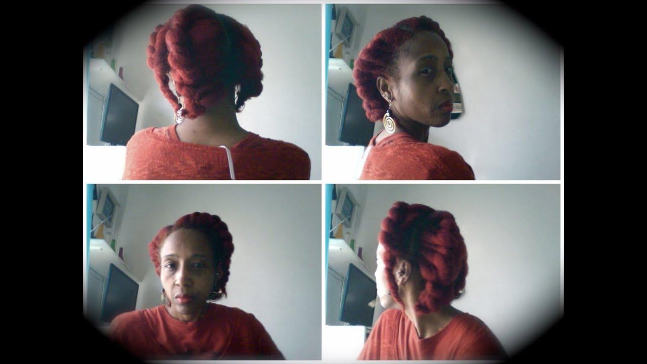 Wella Koleston Hair Colour Volcano Red Application Results