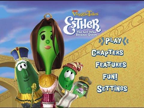Veggietales Esther The Girl Who Became Queen VeggieTales-Esther The...