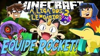 Minecraft: Liga dos Lendários 2 - Equipe Rocket! [2]