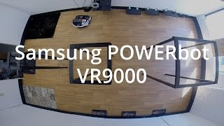 Samsung Powerbot VR9000 Robot Vacuum Review