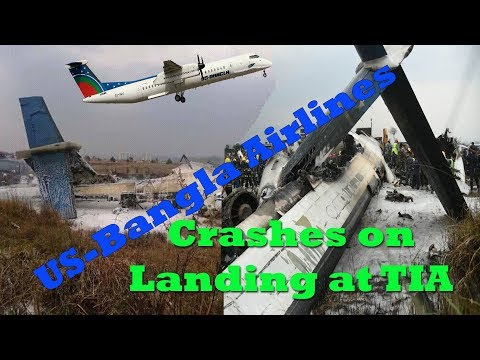 US-Bangla plane crashes    on landing at TIA    3 years ago