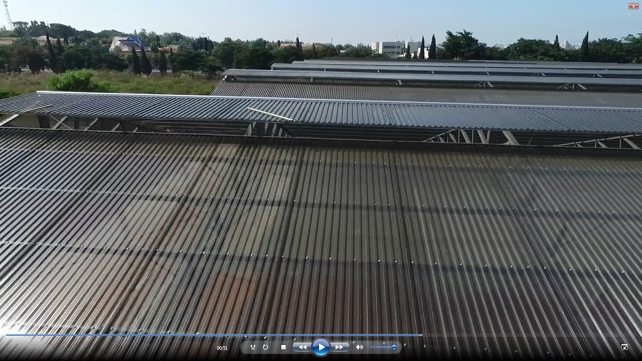 Installation Of Suntuf Plus Corrugated Polycarbonate Commercial Greenhouse Youtube