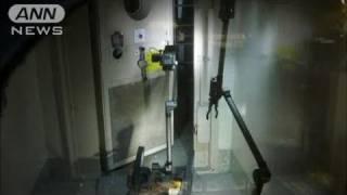 【原発】無人ロボットが建屋内の高い放射線量確認(11/04/18)