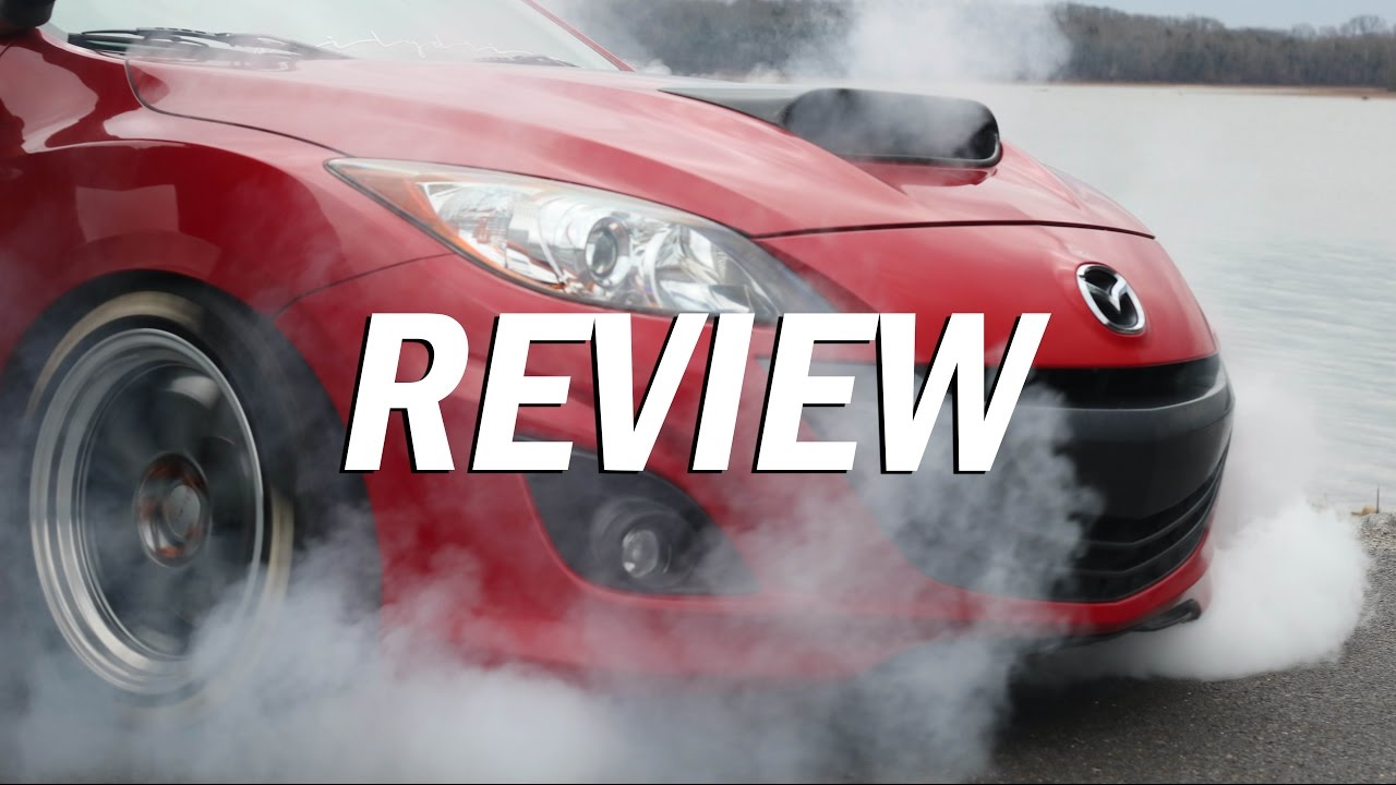 tire shredding mazdaspeed review youtube