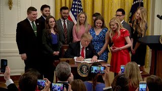 How Trump's executive order on campus free speech could affect colleges thumbnail