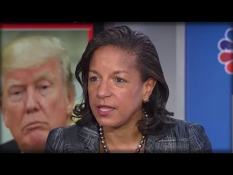 RIGHT AFTER MANAFORT WIRETAPS WERE REVEALED, SUSAN RICE WENT