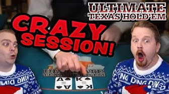 Absolutely CRUSHING it in Live Dealer Ultimate Texas Hold'em