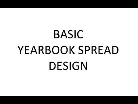 Basic Yearbook Spread Design