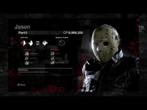 All 7 playable Jasons and stats revealed! Friday the 13th Jason strengths and weaknesses information