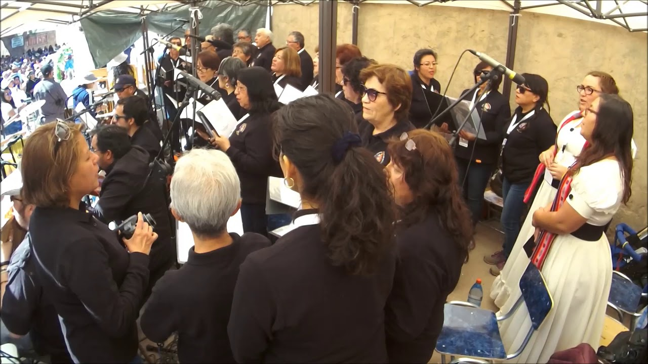 Coro Diocesano de Calama en Ayquina 8 septiembre 2018