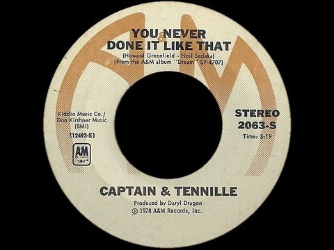 Captain & Tennille ~ You Never Done It Like That 1978 Disco Purrfection Version