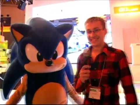 Rare Russian interview with Sonic the Hedgehog (eng. subtitles)