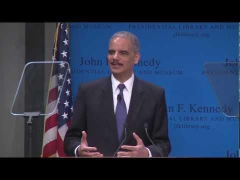 A Discussion with Attorney General Eric Holder