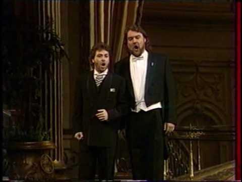 "Roberto Alagna & Bryn Terfel ""Au fond du temple saint"""