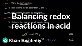 Balance and Redox Reactions I