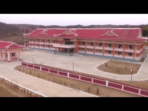 North Phyongan Provincial Old People's Home Completed