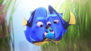 Finding Dory - Baby Dory All Scenes So cute!