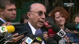 Aécio Neves tira Tasso Jereissati da presidência interina do PSDB | SBT Brasil (09/11/17)