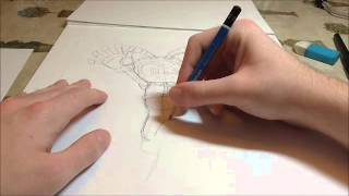How to draw: Charmy bee