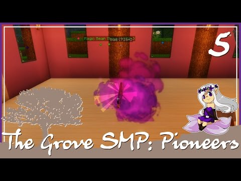 The Grove SMP: Pioneers [5] Beginning Thaumcraft 5!! Minecraft 1.8 Gameplay
