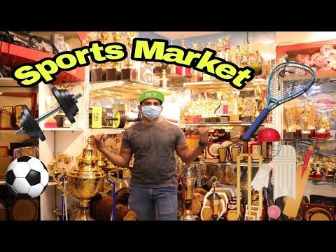 Sports Items Market In Chennai \ Cricket Bat \ Badminton Bat \ Ball \ Foot Ball \ Salam Popz