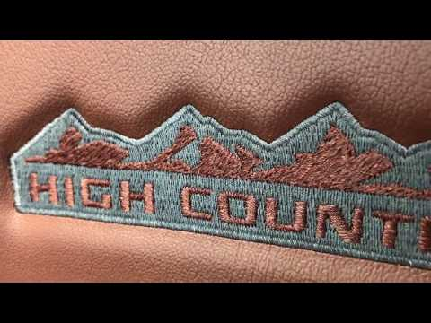 Detailed Video 2018 Chevy Traverse High Country Interior Jet:Loft Brown Leather