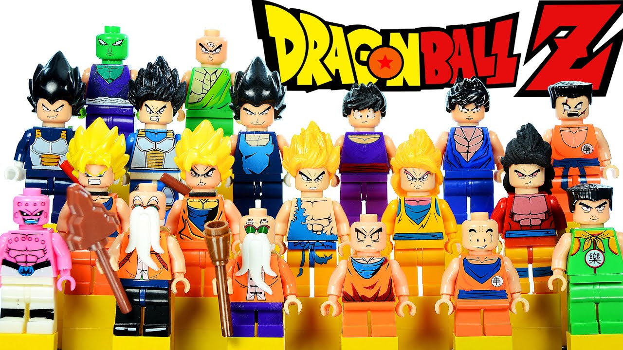 Gashapon Dragon Ball Super VEGETA SS GOD  Lego Compatibile Minifigures DBZ 13