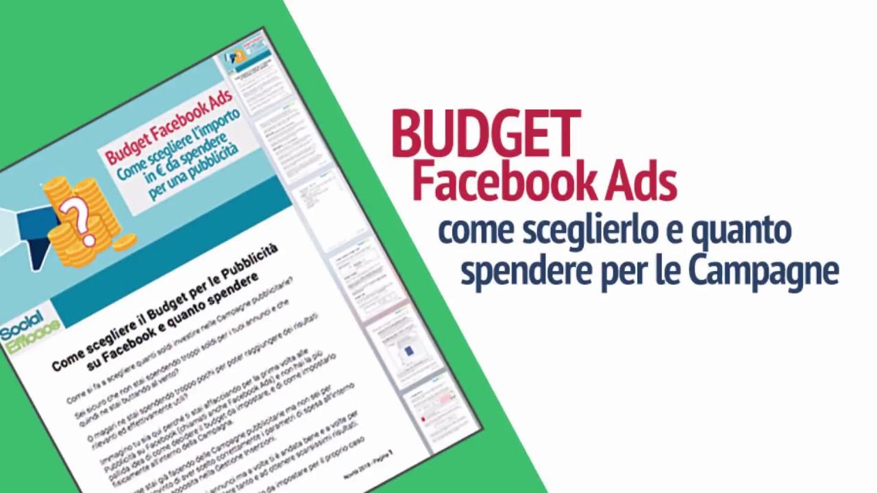 Pubblicita Buon Natale Numero 7.Come Scegliere Budget Pubblicita Facebook Quanto Spendere