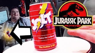 What does Dennis Nedry's soda taste like? | Jurassic Park | Jolt Cola taste test!